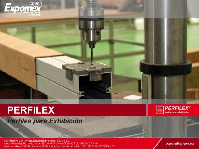 Perfiles de aluminio para exhibidores for Perfiles de aluminio barcelona
