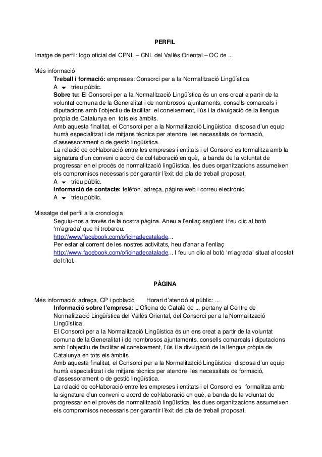 PERFILImatge de perfil: logo oficial del CPNL – CNL del Vallès Oriental – OC de ...Més informació       Treball i formació...