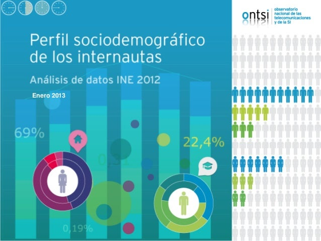 Perfil sociodemográfico del internauta 2012