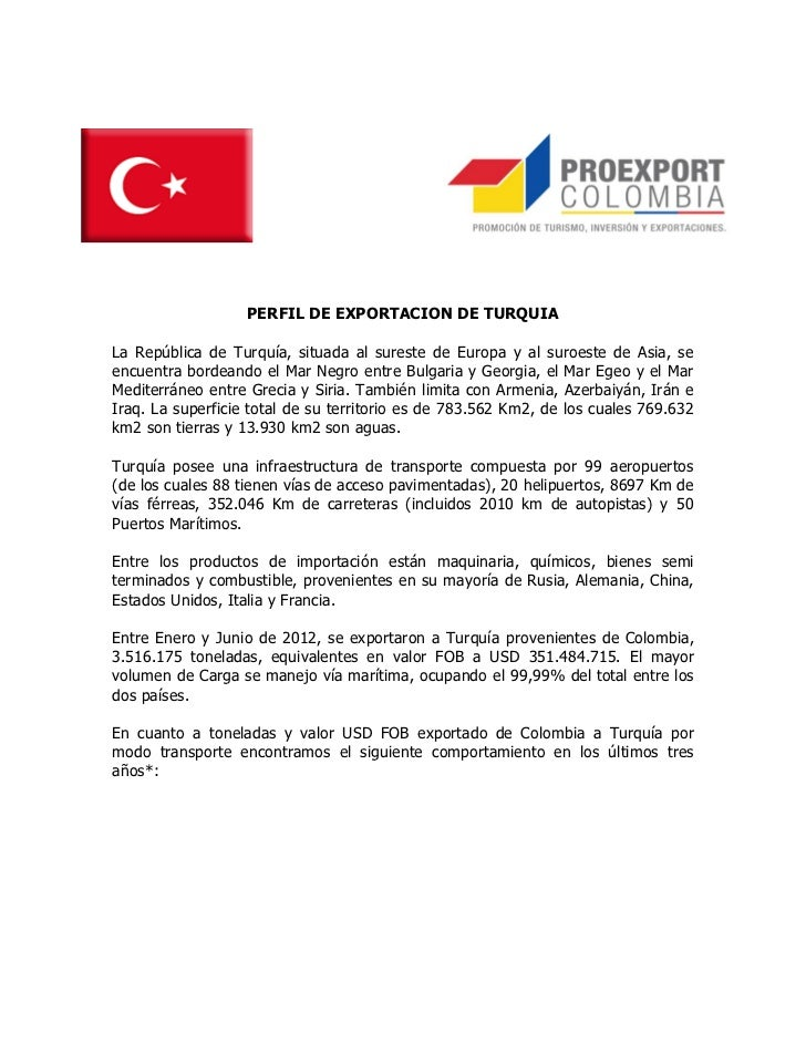 Perfil Turquía
