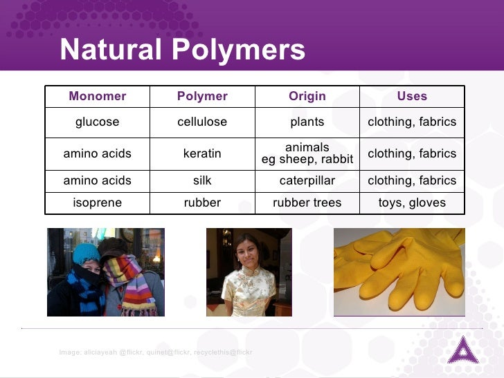 Performance materials module textiles for List of natural items