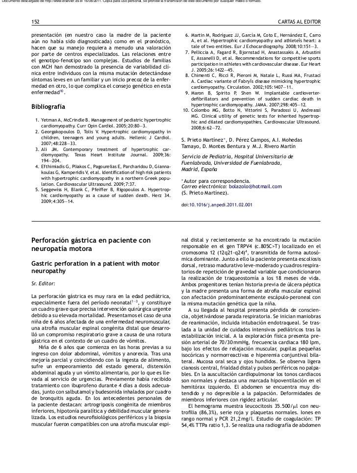 Documento descargado de http://www.elsevier.es el 16/08/2011. Copia para uso personal, se prohíbe la transmisión de este d...