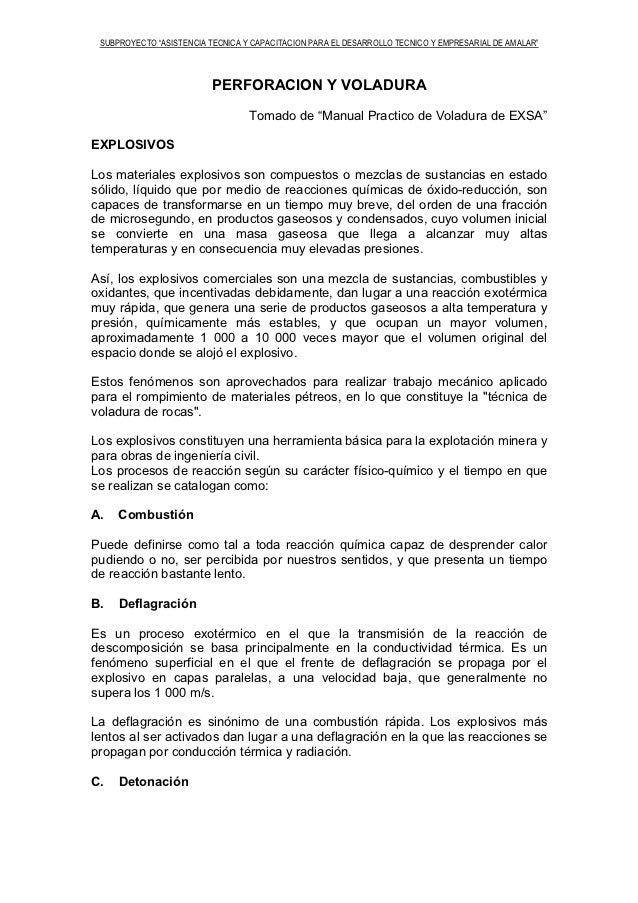 """SUBPROYECTO """"ASISTENCIA TECNICA Y CAPACITACION PARA EL DESARROLLO TECNICO Y EMPRESARIAL DE AMALAR""""                        ..."""