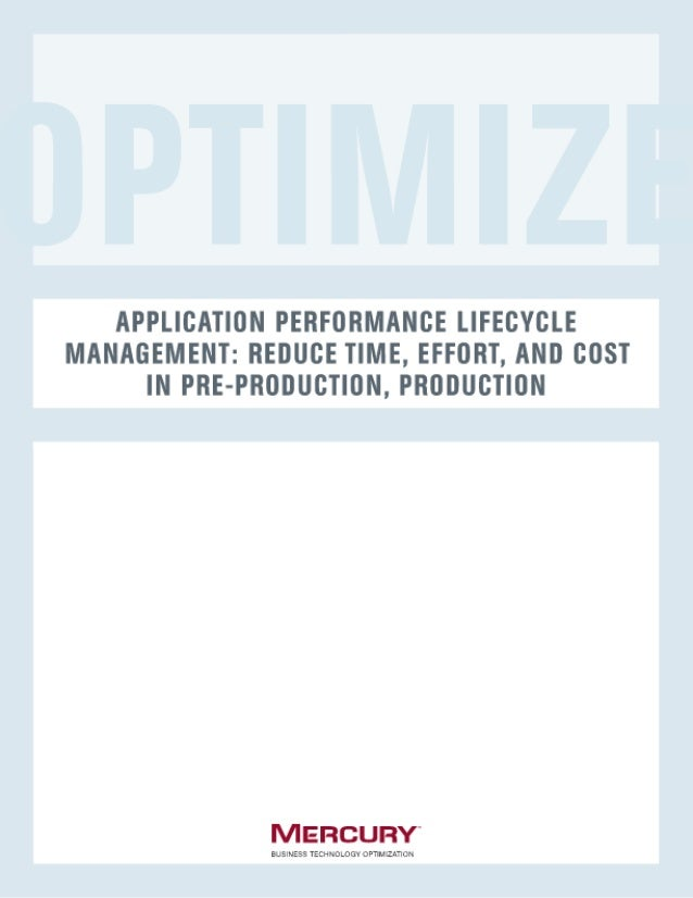 Performance Life Cycle