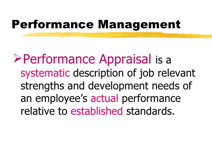 Performance management-performance-appraisal-is-a-system