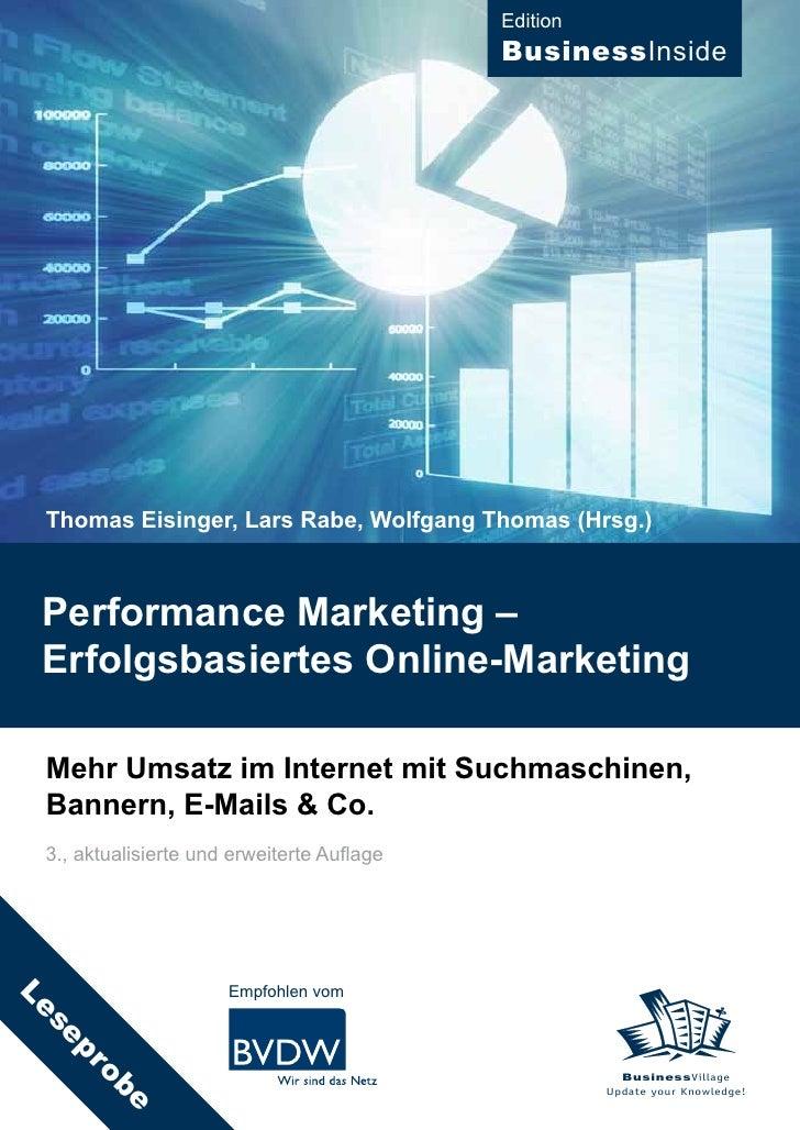Edition                                             BusinessInside      Thomas Eisinger, Lars Rabe, Wolfgang Thomas (Hrsg....