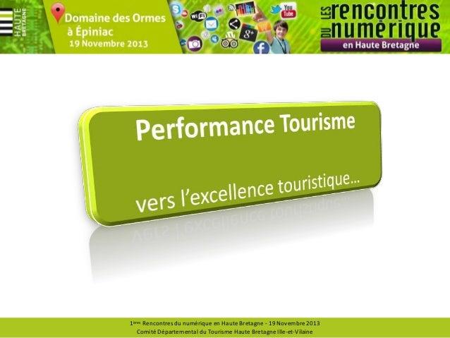 Performance tourisme