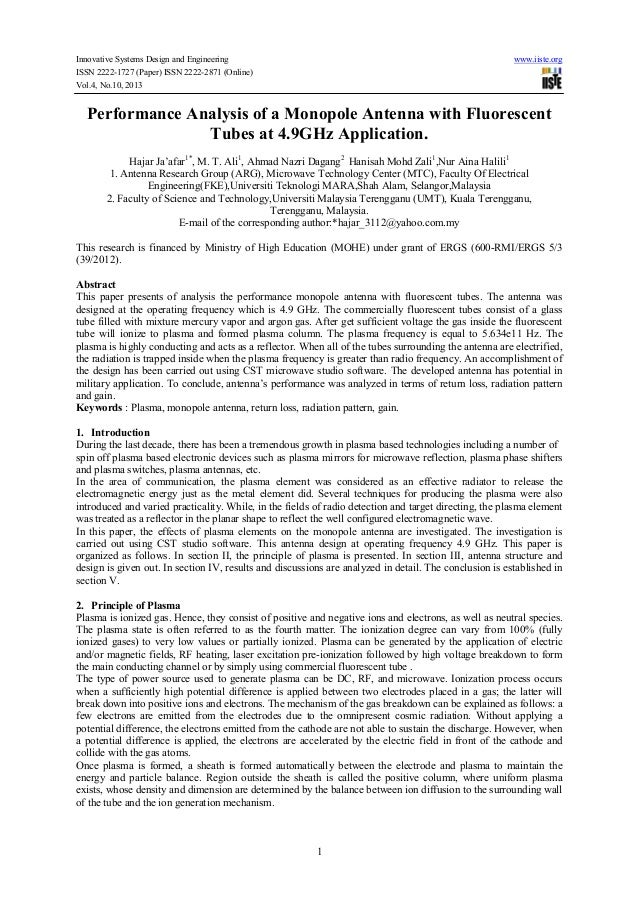 Innovative Systems Design and Engineering www.iiste.org ISSN 2222-1727 (Paper) ISSN 2222-2871 (Online) Vol.4, No.10, 2013 ...