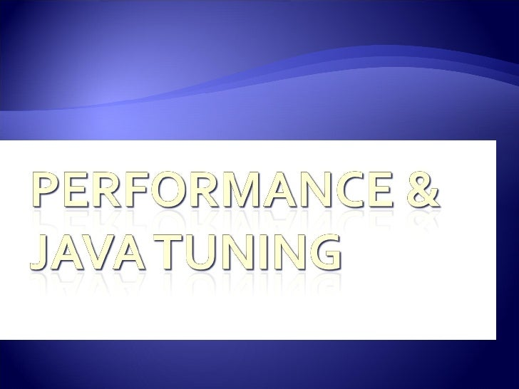 OKJSP Performance And Java Tuning.V2008.0702