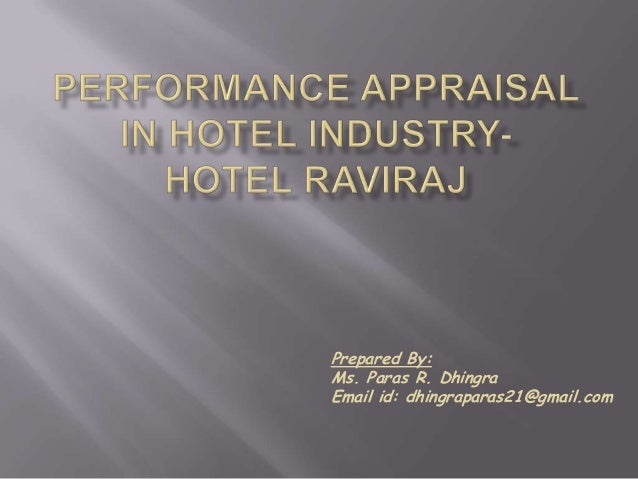 employee performance in the hotel industry Horizon hospitality performance management tools: driving success in  the  performance and productivity of every employee – from catering.