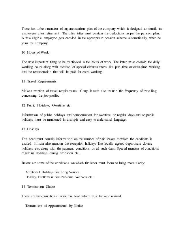 Performance appraisal letter format