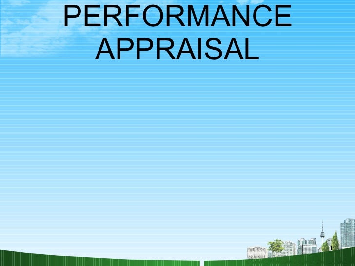 Performance appraisal ppt @ bec doms hr