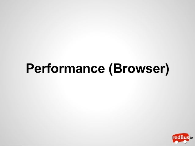 Performance (Browser)