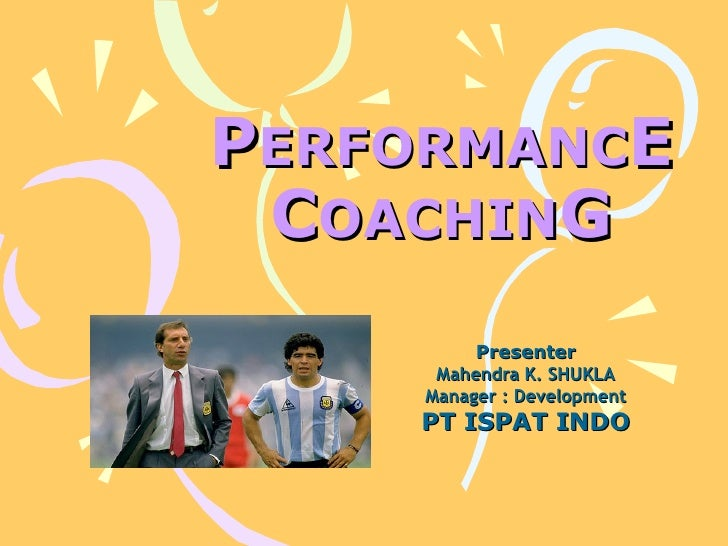 Performance Coaching 1