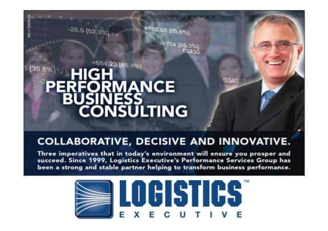 Logistics Executive - Performance Consulting Overview