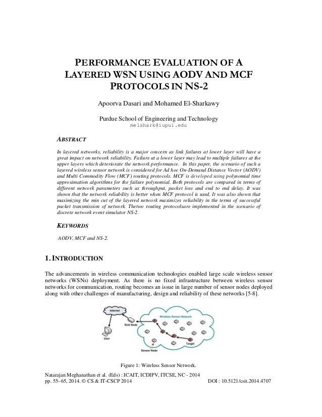 Natarajan Meghanathan et al. (Eds) : ICAIT, ICDIPV, ITCSE, NC - 2014 pp. 55–65, 2014. © CS & IT-CSCP 2014 DOI : 10.5121/cs...