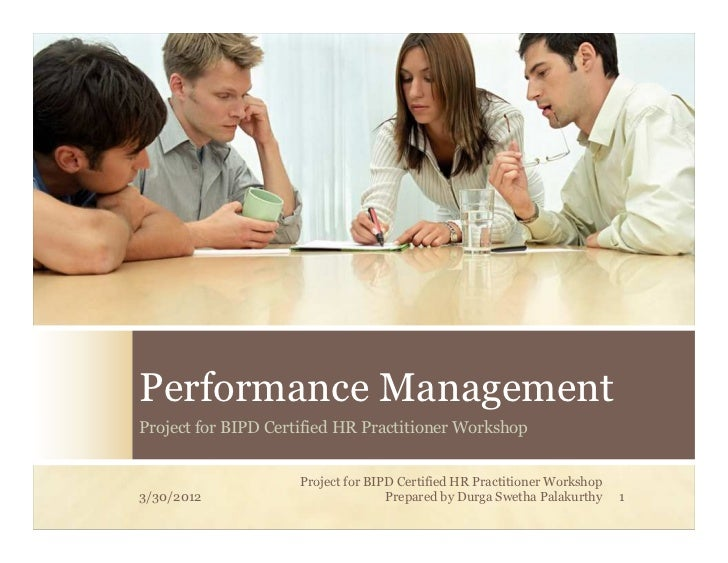 Performance management  project for bipd