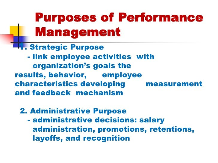 describe how employee performance is measured and managed Why measure performance employee motivation, performance contracting ed measurement systems will undergird management.