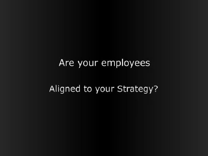 Are your employees  Aligned to your strategy