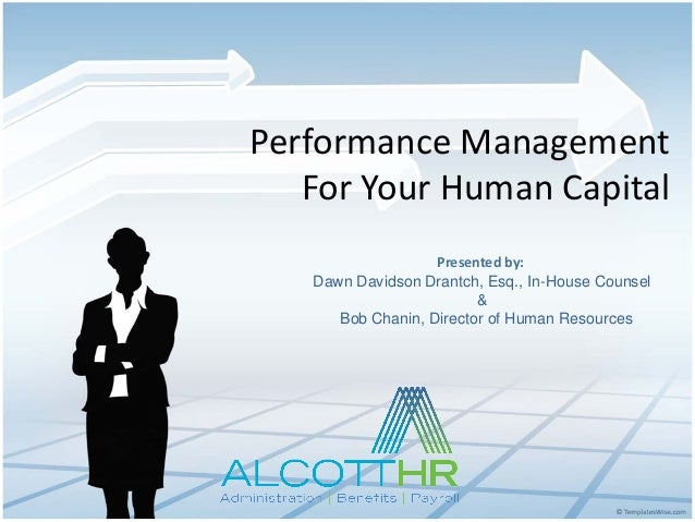 Performance Management For Your Human Capital