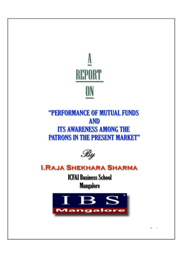 Performance of mutual fund