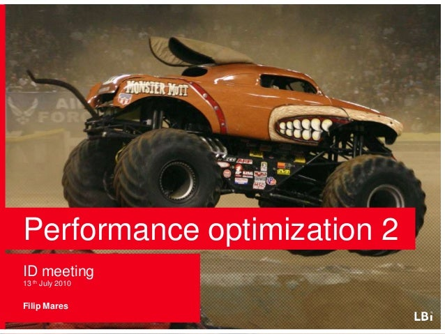 Performance optimization - JavaScript