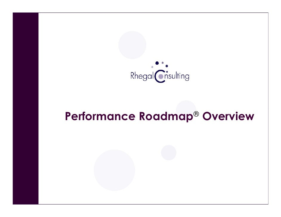 Performance Roadmap Overview