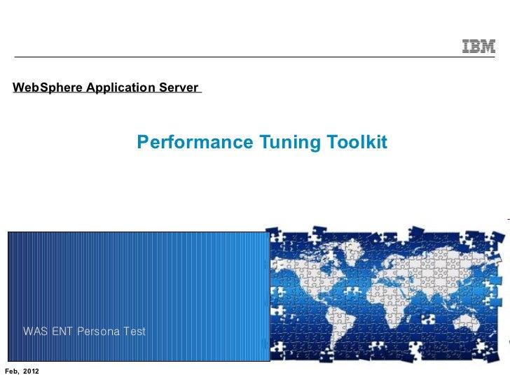 Performance tuningtoolkitintroduction
