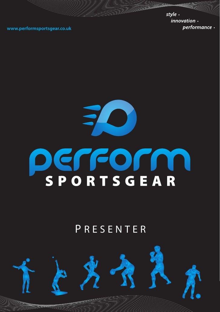Perform Sportsgear Brochure