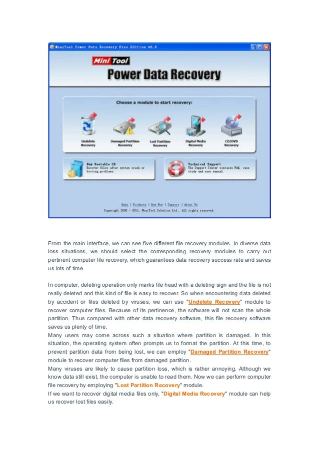 Computer Files Recovery Software Free Computer File Recovery