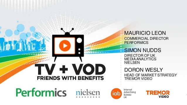 Performics, Tremor, IAB UK Present TV and VOD Study Results