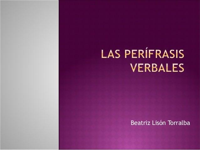 Beatriz Lisón Torralba