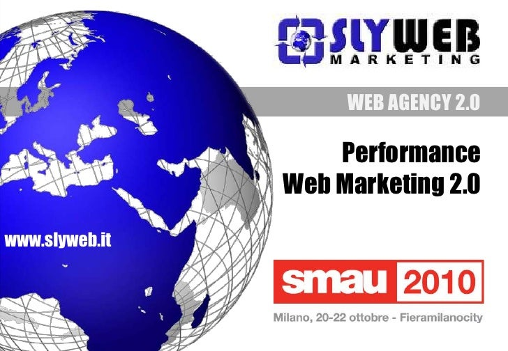 smau2010 - Corso: Performance Web Marketing 2.0