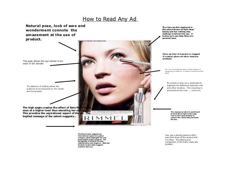 How To Make Advertisement In English