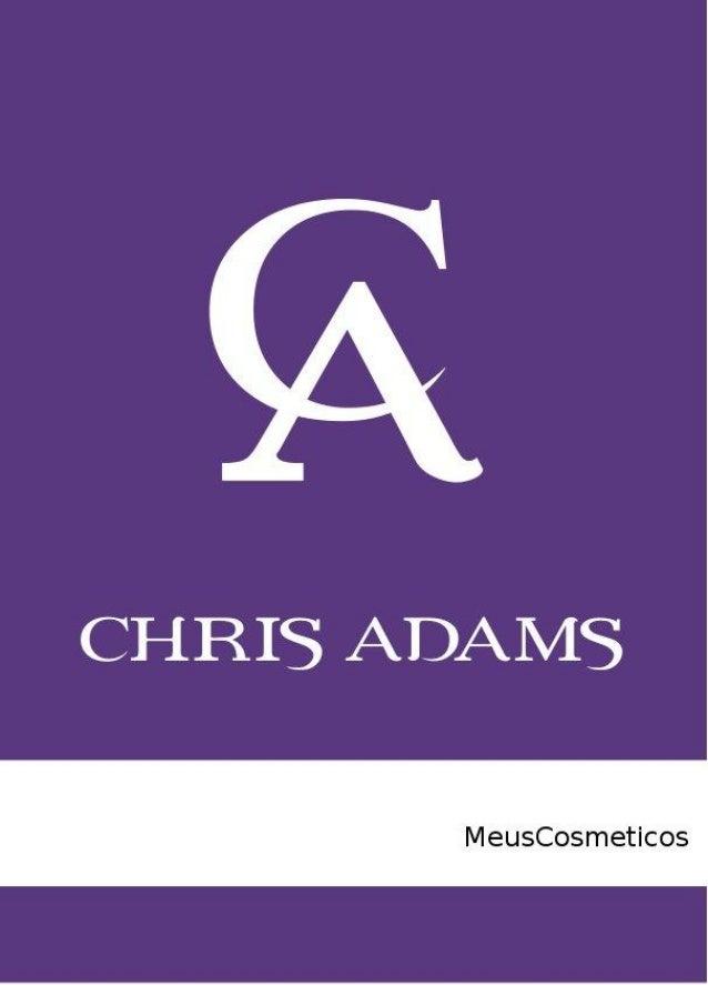 Perfumes Importados Chris Adams - julho 2013