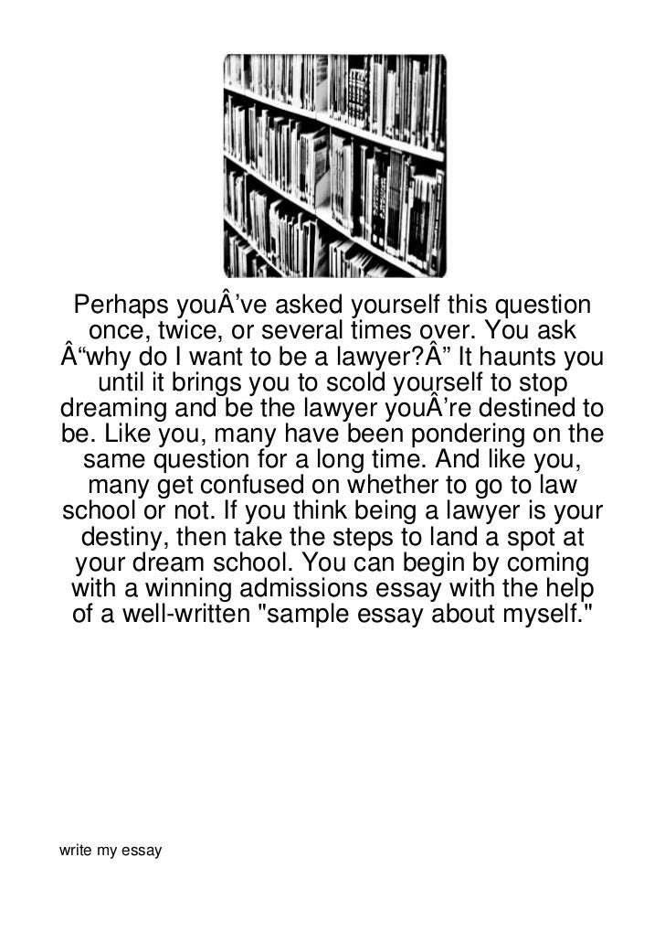 "Perhaps youÂ've asked yourself this question   once, twice, or several times over. You askÂ""why do I want to be a lawyer?Â..."
