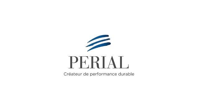 |2016 Présentation du groupe PERIAL