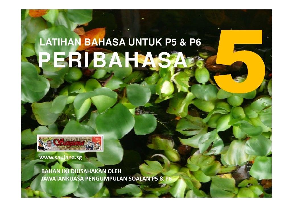 LATIHAN BAHASA MELAYU PSLE - PERIBAHASA 05