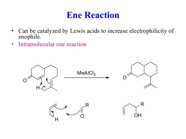 reaction classes and pericyclic reactions