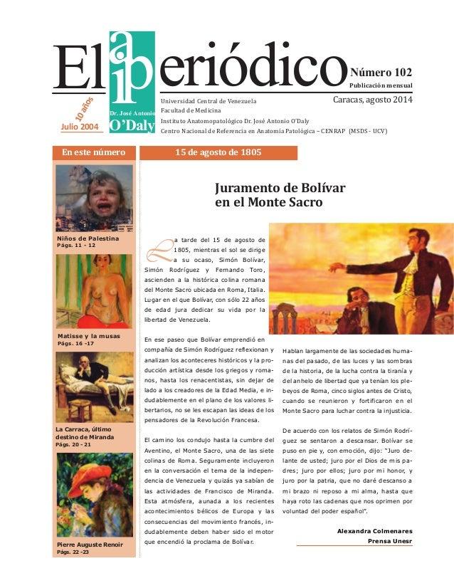 EL IAPERIODICO Nro. 102 (Agosto 2014)