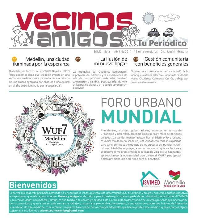 6ta. edición del Periódico Vecinos y Amigos