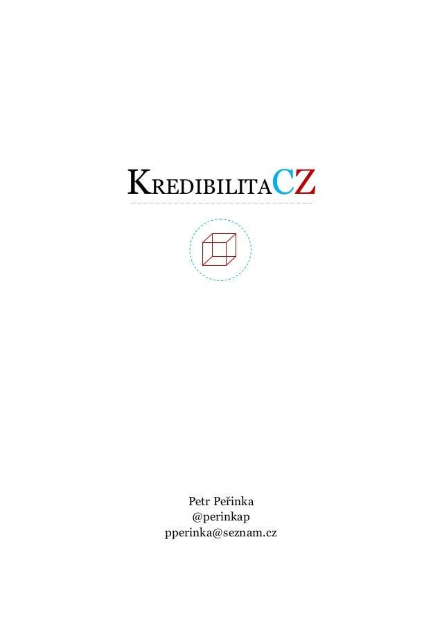 Perinka kredibilita cz