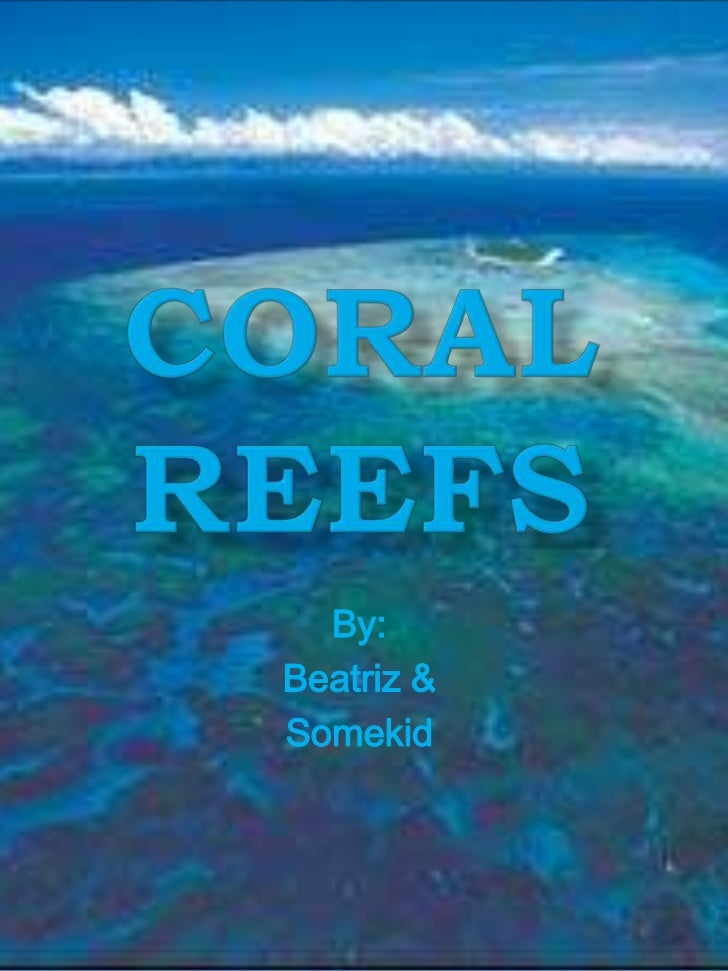 Coral Reefs<br />By: <br />Beatriz &<br />Somekid<br />