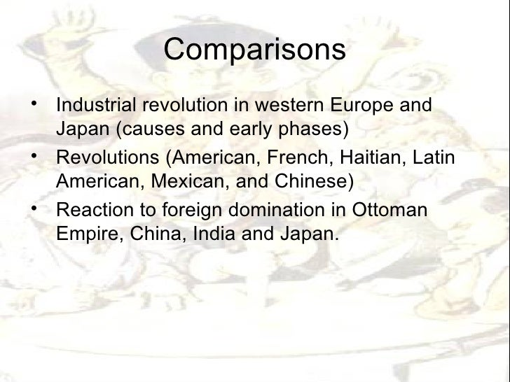 french and haitian revolution comparisons essay Free essay: comparison of the american and french revolutions the american and   get an answer for 'compare and contrast the french and haitian revolutions.
