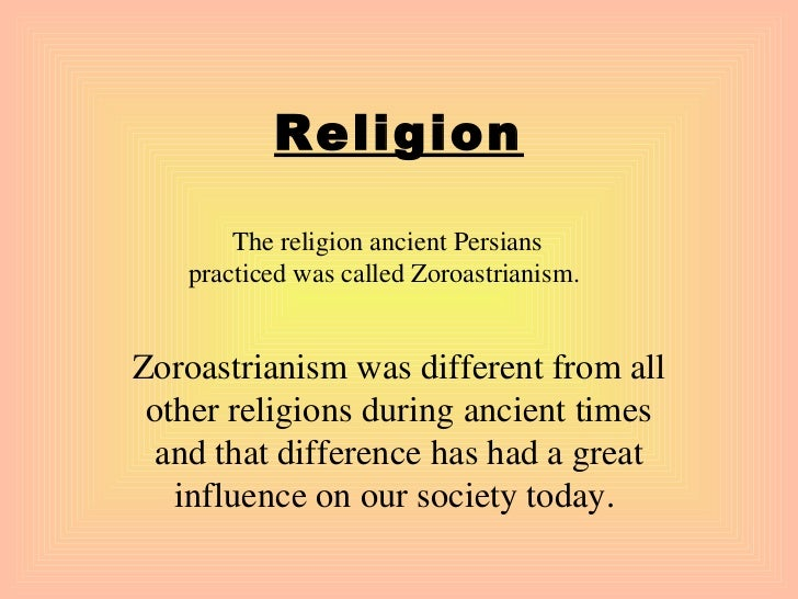 the description of the zoroastrianism religion and its prevalence Research on lexicography- islam and zoroastrianism - download as word the page aims at analyzing lexicographical perspectives of religious concepts and draws.