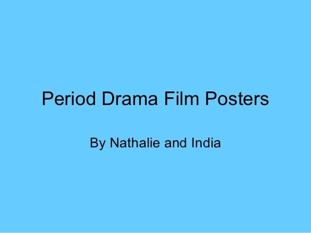 Period drama film posters