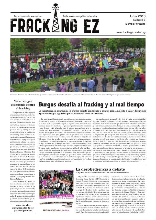 Periódico fracking NO Junio 2013