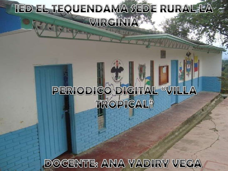 Periódico digital VILLA TROPICAL