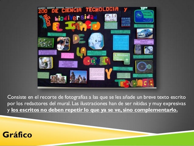 El peri dico mural for Concepto de periodico mural
