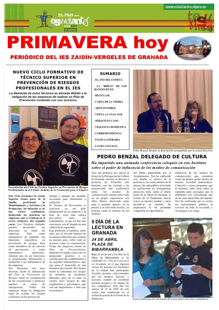 Periodico primaverahoy2006 07pdf